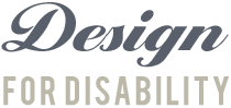 Design For Disability Retina Logo